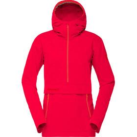 Norrøna Svalbard Cotton Anorak Women Crimson Kick